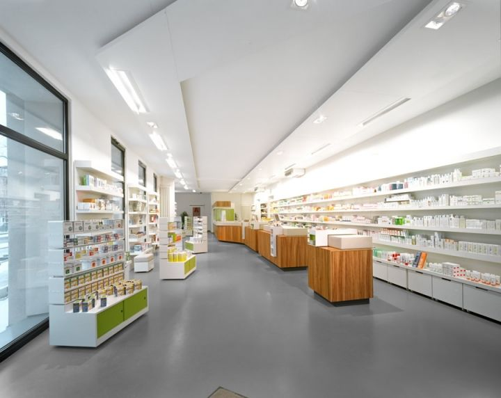 Pharmacy Design Ideas pharmacy by tsoumanis pharmacy design greece agrinio pharmacy office healthcare Adler Pharmacy Design By Kinzo