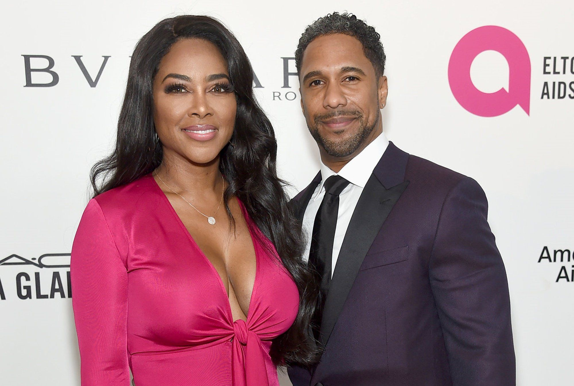 Kenya Moore Dons Stunning Dress At Oscars AfterParty With