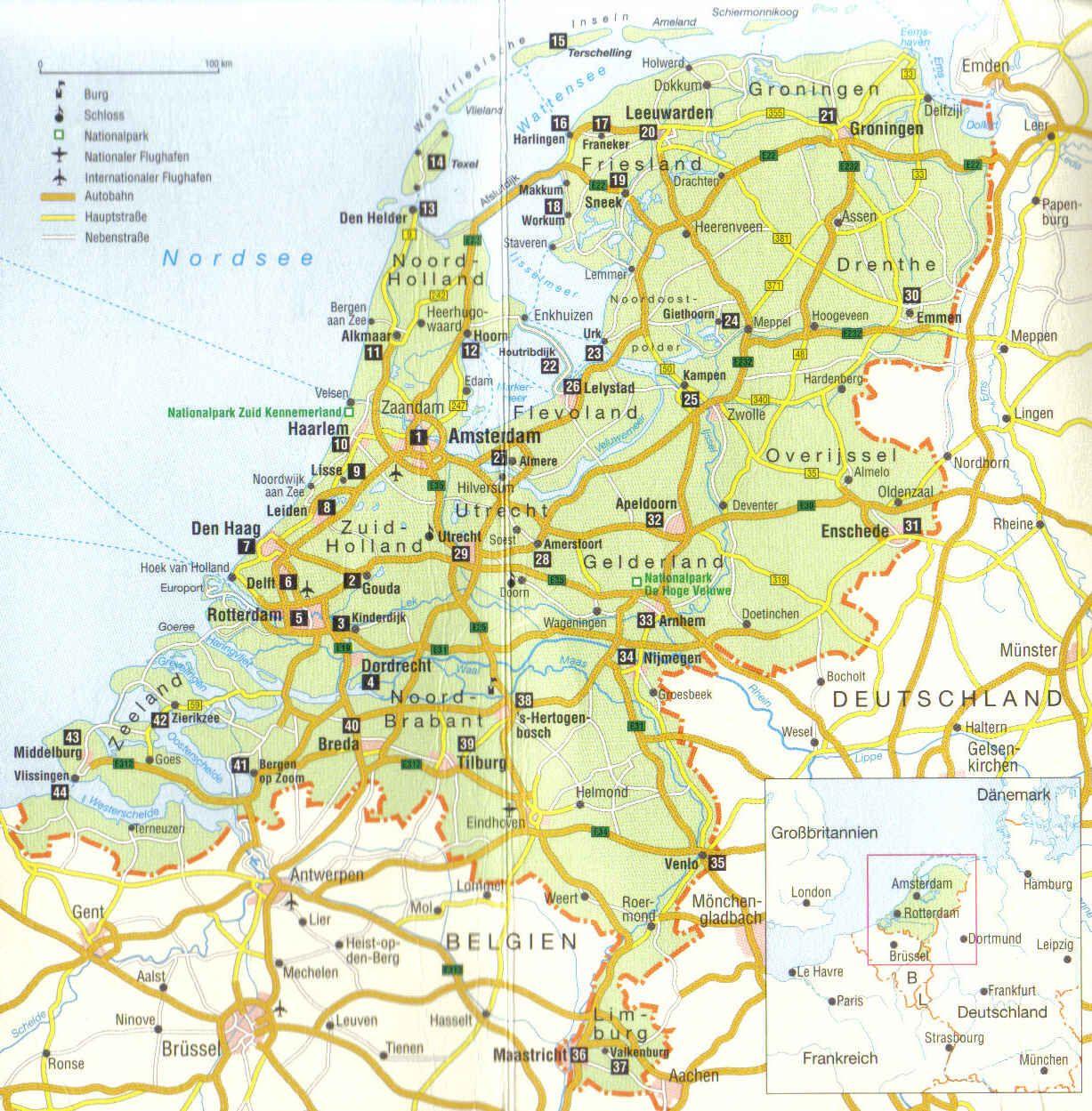 Karte Holland Familien Urlaub Familienurlaub Und Aktuell