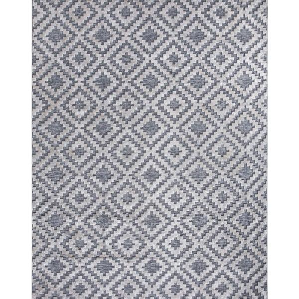 Home Decorators Collection Samba Square Gray 8 Ft X 10 Ft Indoor Outdoor Area Rug 32467 The Home D In 2020 Home Decorators Collection Rug Texture Outdoor Area Rugs