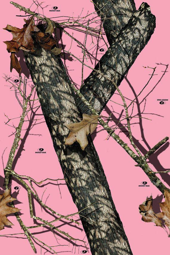 Mossy Oak Break Up Pink Camo Vinyl Roll Outdoor Adhesive