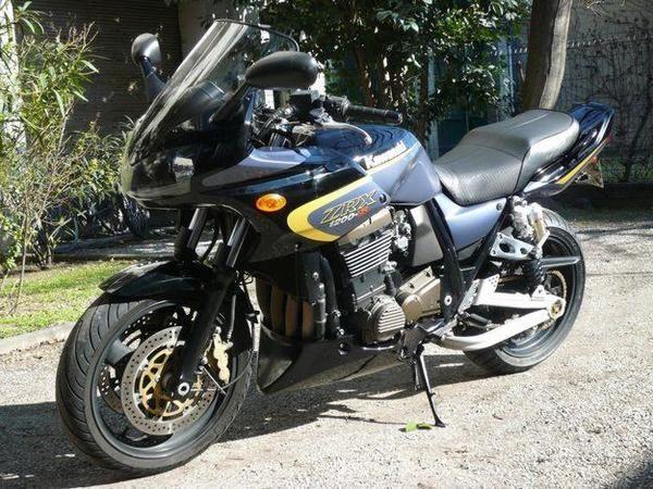 kawasaki zrx 1200 s 2003 #bikes #motorbikes #motorcycles #motos #motocicletas