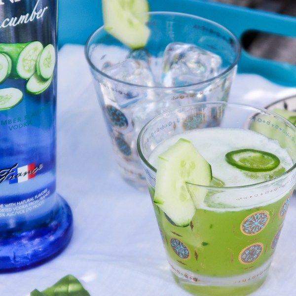 Cucumber Basil Refresher