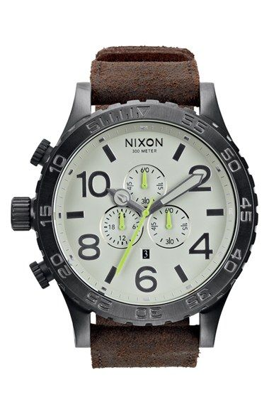 Nixon+'The+51-30+Chrono'+Watch,+51mm+available+at+#Nordstrom