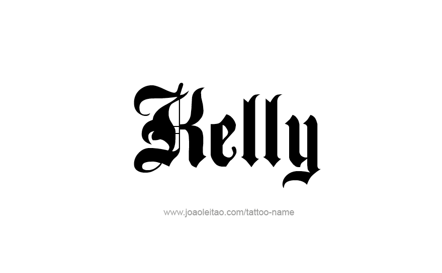 Kelly Name Tattoo Designs (With images)   Name tattoos ...