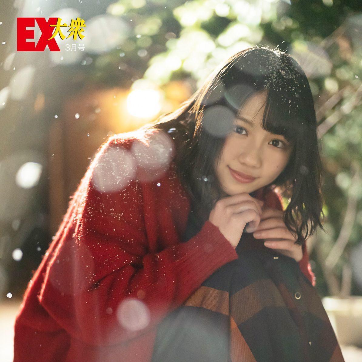 写真:渡邉美穂(わたなべみほ)2000年2月24日生まれ