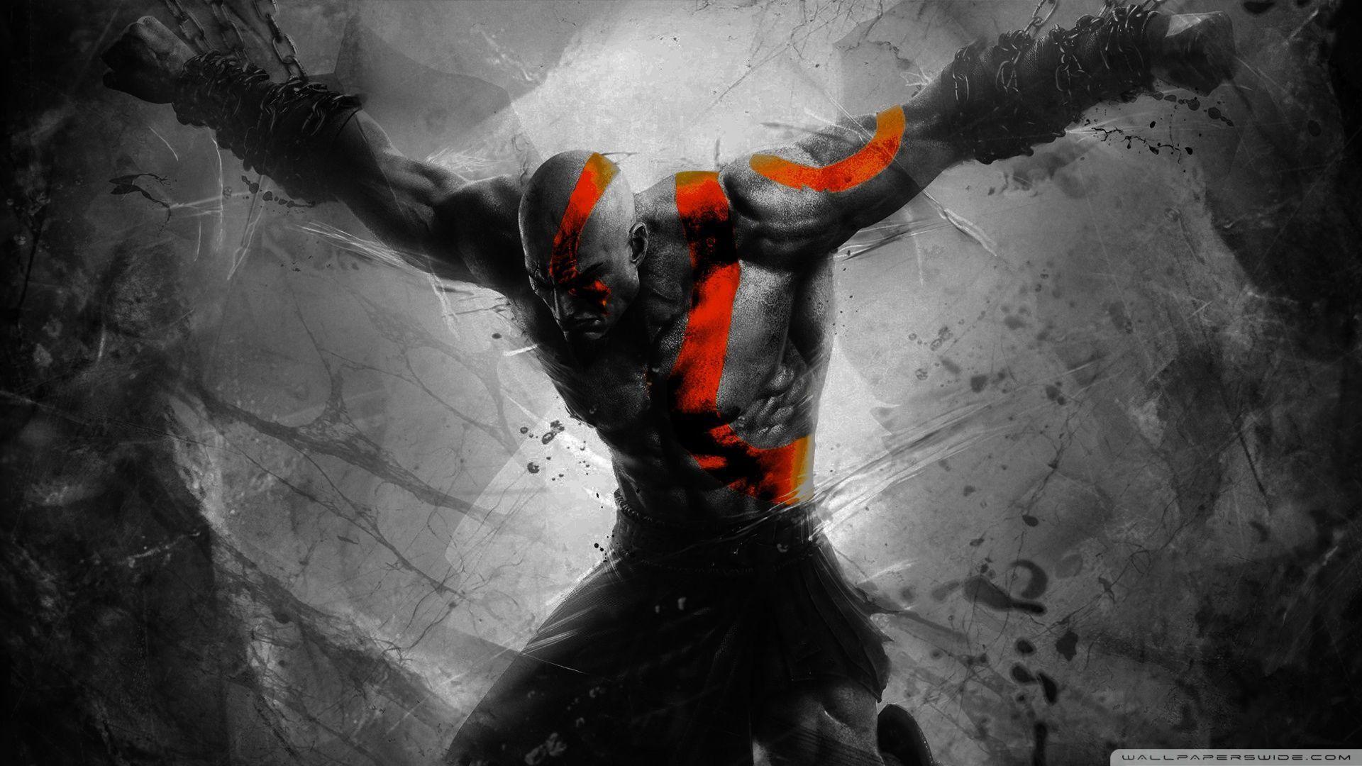 God Of War Ps4 Wallpaper 1080p By Claterz God Of War Kratos God Of War Cover Wallpaper