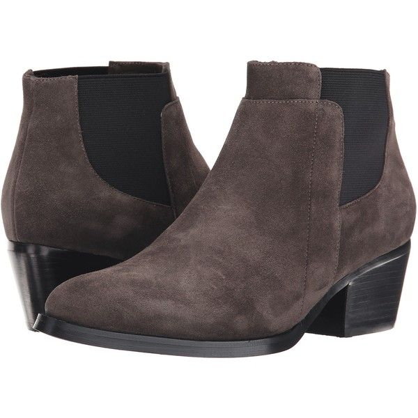 Vaneli Ruella (Mouse Nival Suede All Over/Black Elastic) Women's Boots ($75