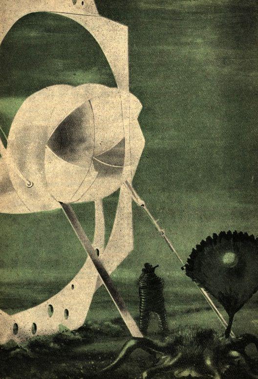 Teodor Rotrekl  Illustrations for Planet Eden, by Stanislaw