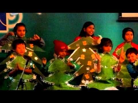 kids dancing on a song im the happiest christmas tree youtube