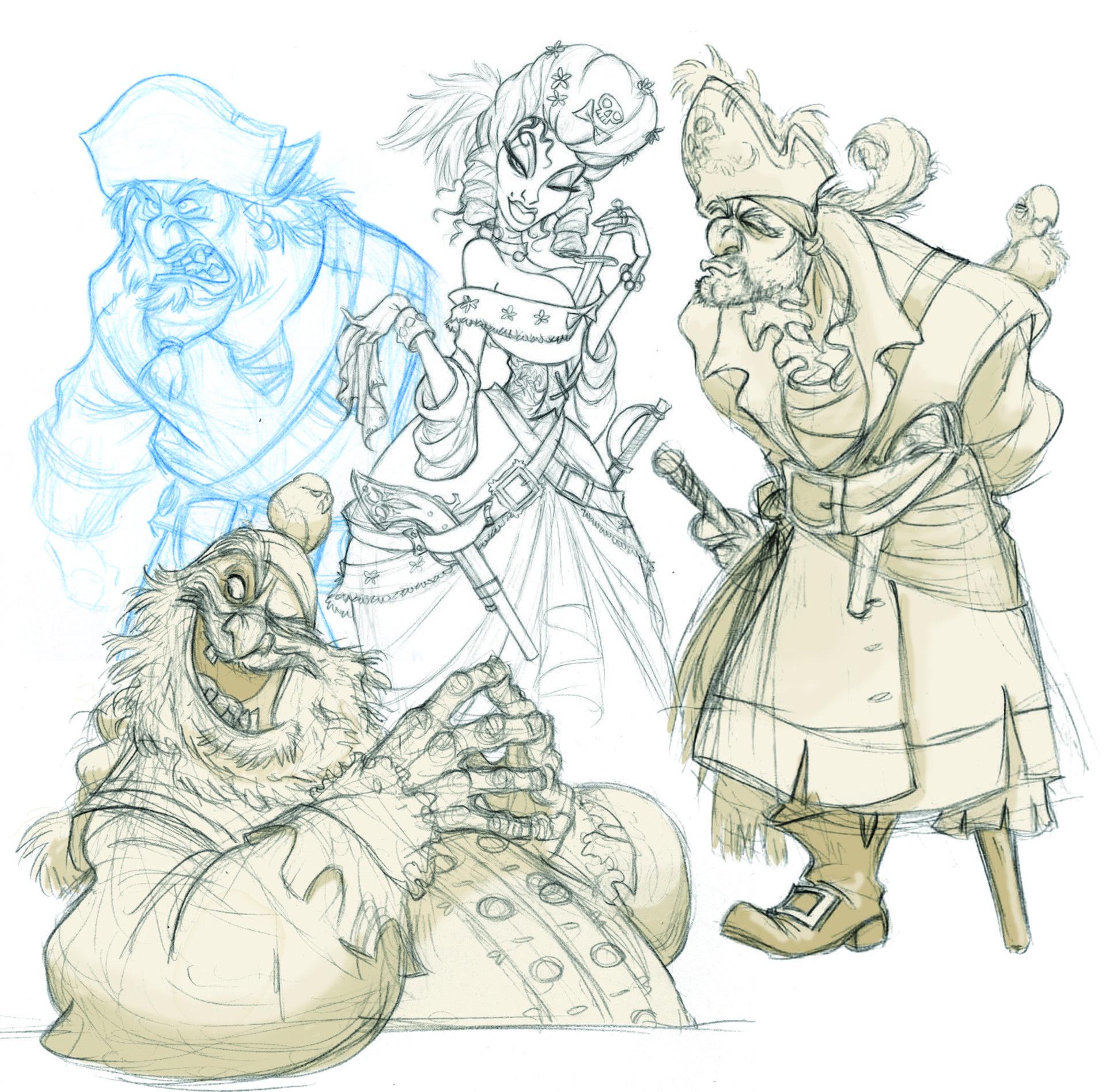 Characters: Animalia by jeff merghart on ArtStation.