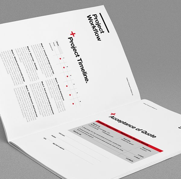 Proposal Template Suisse Design with Invoice by Egotype, via - purchase proposal templates