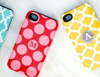 I pinned this from the Happy Habitat - Preppy Monogrammed iPhone Cases event at Joss and Main!