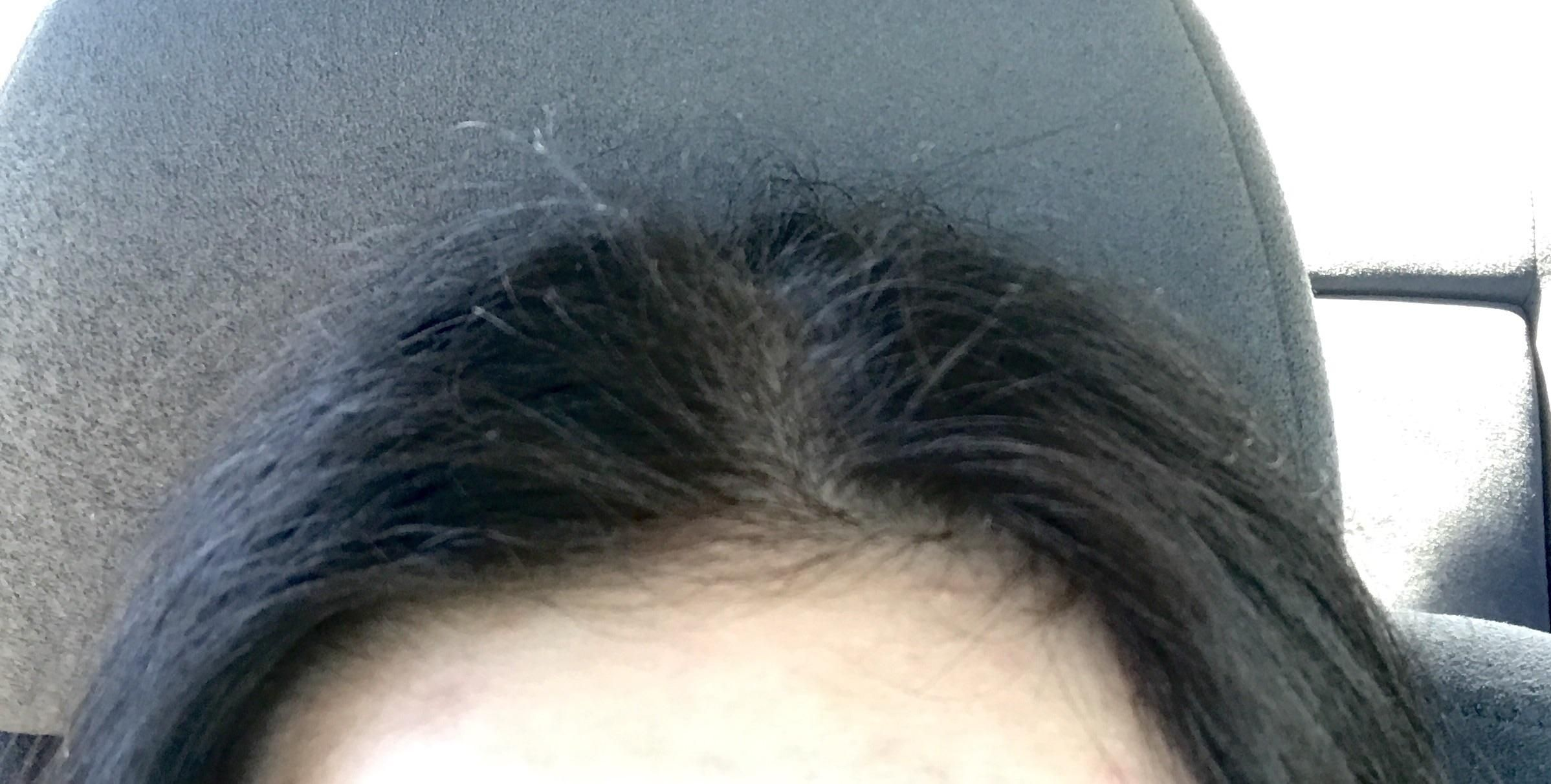 Looking For Advice On How To Tame The Chronic Fly Aways On The Top Of My Head The Rest Of My Hair Is Not Frizzy At All Fly Away Hair Tame