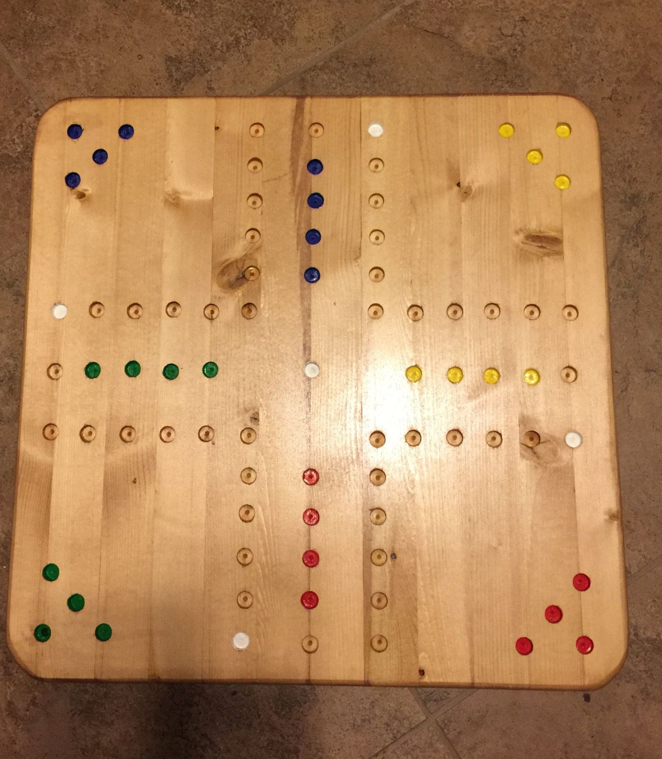 Aggravation Game Board By Sewwhatevertxstyle On Etsy Furniture