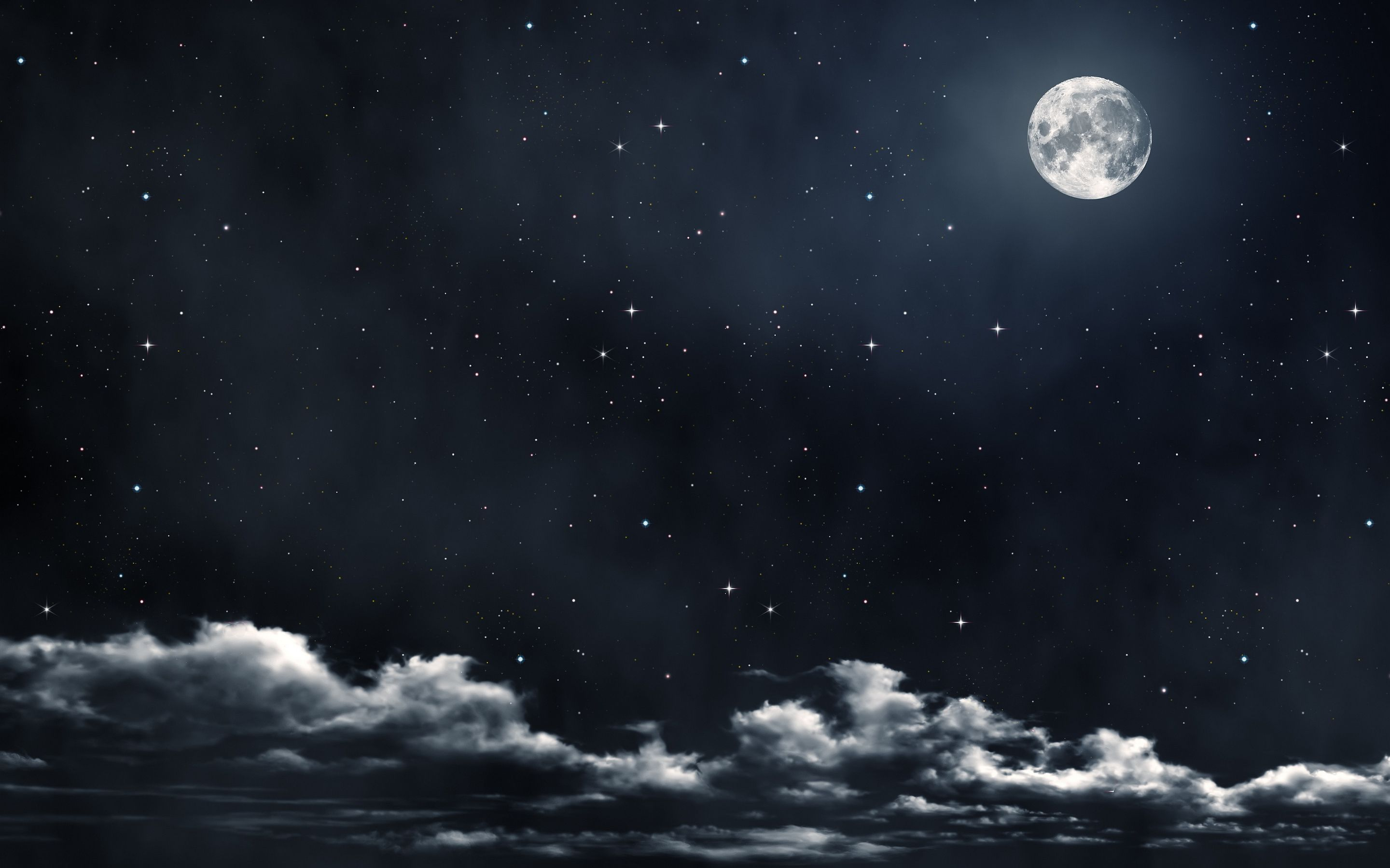 falling alseep on clouds in the night sky moon star quotes