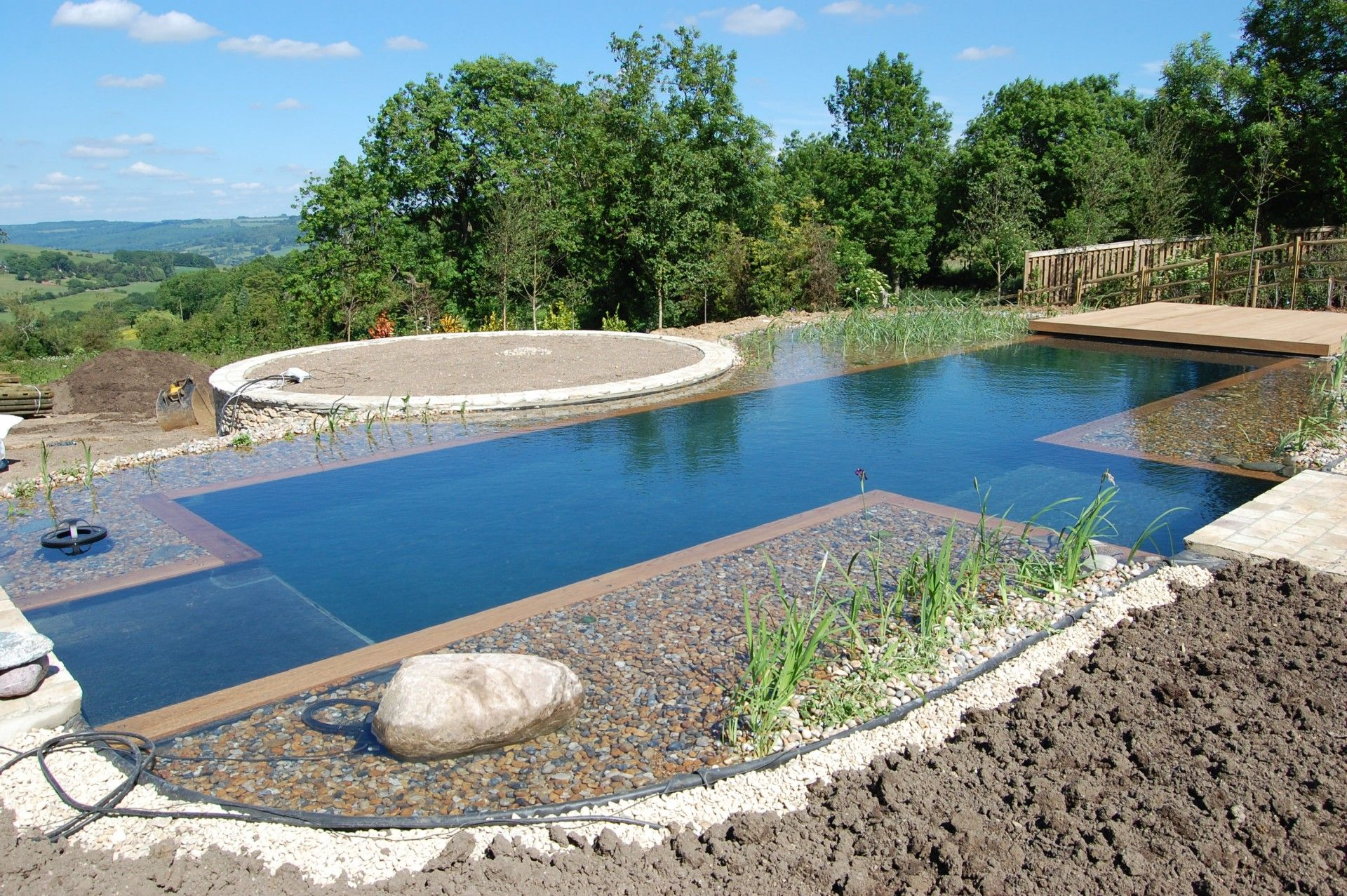 Building a natural swimming pool - 17 Best Images About Natural Swimming Ponds On Pinterest Natural Swimming Pools Leaves And Pools