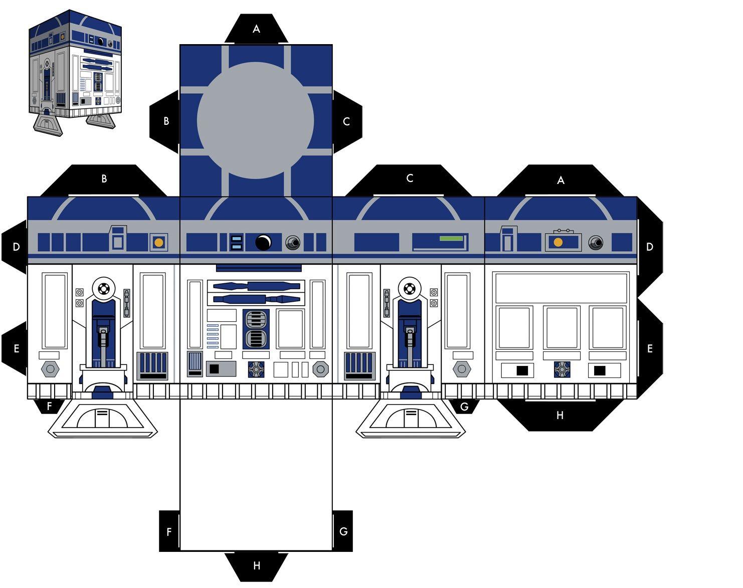 star wars papercraft r2 r8 star wars papercraft all paper craft kitchen gadgets pinterest. Black Bedroom Furniture Sets. Home Design Ideas