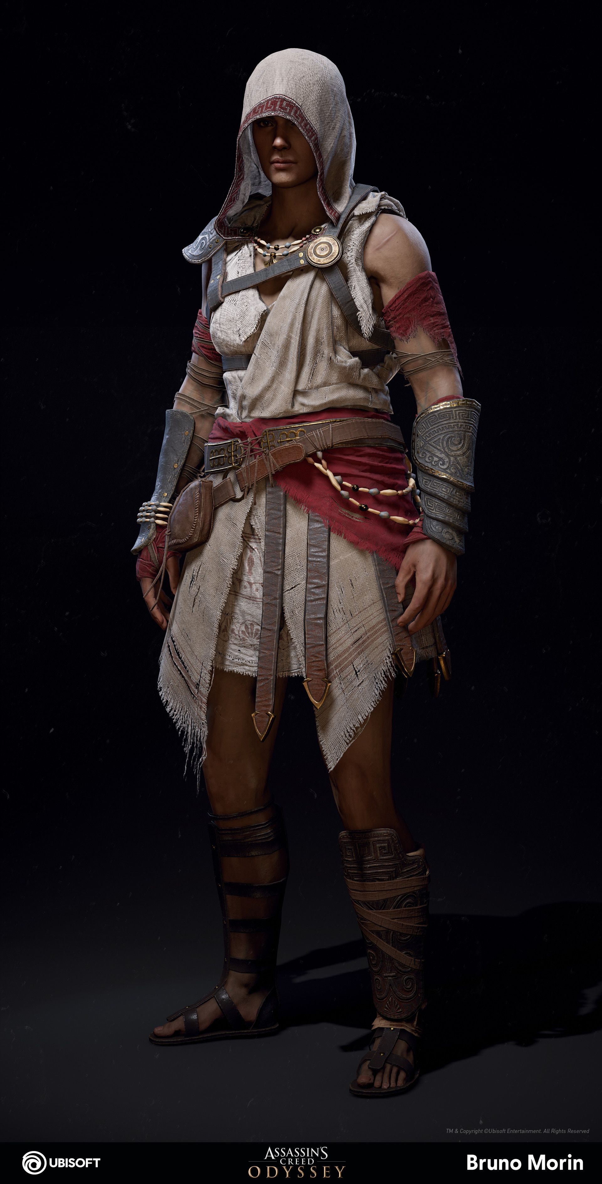 Artstation Assassin S Creed Odyssey Pilgrim Outfit Bruno