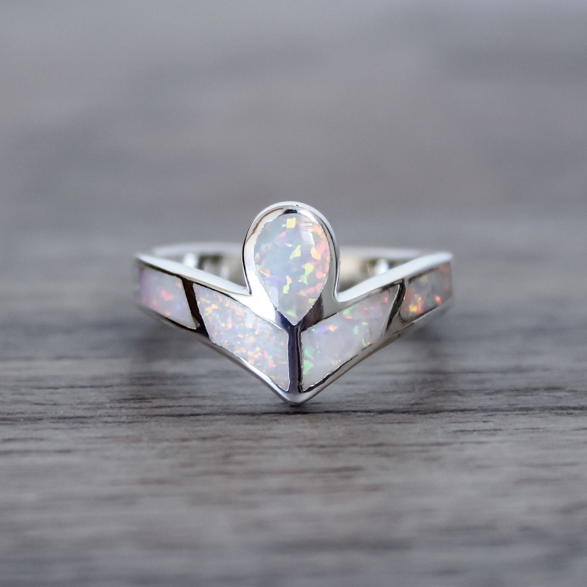 Angel Opal Ring | Boho festival, Opal rings and Indie