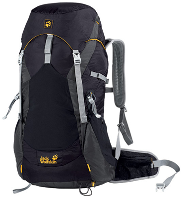 Jack Wolfskin Alpine Trail 40 Hiking Pack black
