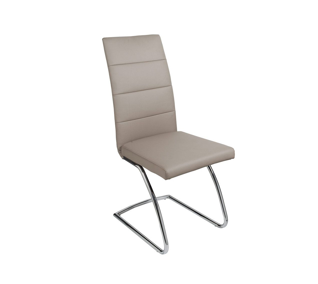 chaise izzy taupe meridienne