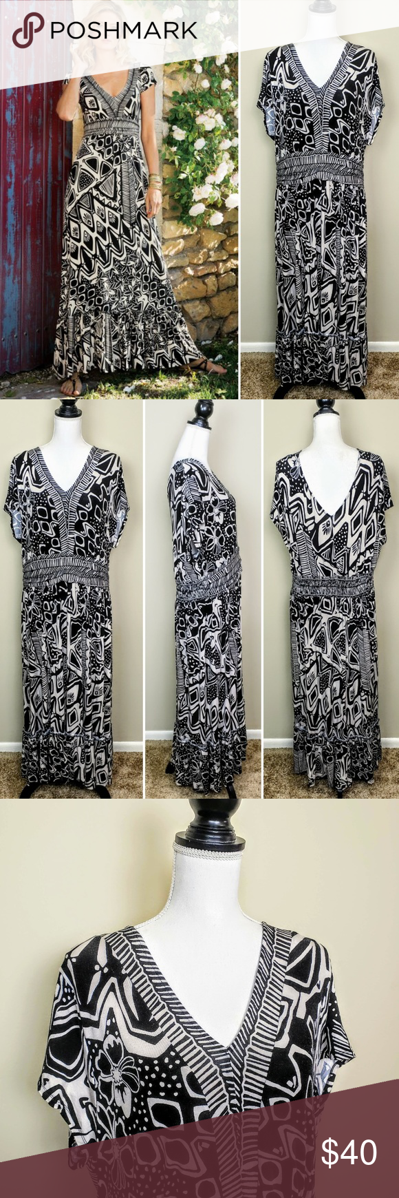 Soft Surroundings Maxine Maxi Dress V Neck 3x Gently Used Excellent Condition No Rips No Stains N Soft Surroundings Dresses Style Maxi Dress Maxi Dress [ 1740 x 580 Pixel ]