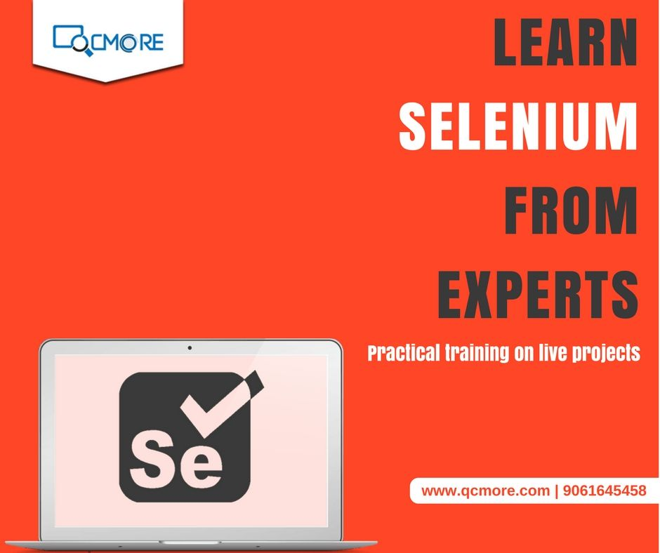 Learn Selenium automation tool at QCmore Software Testing Training Institute Kochi and avail placement assistance for a promising Software testing career in leading MNCs. For Enquiry: www.qcmore.com | 9061645458