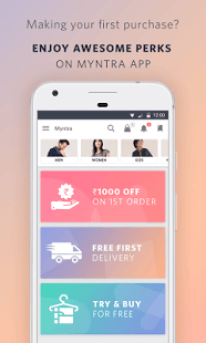98ed5b401 Myntra Online Shopping App - Android Apps on Google Play