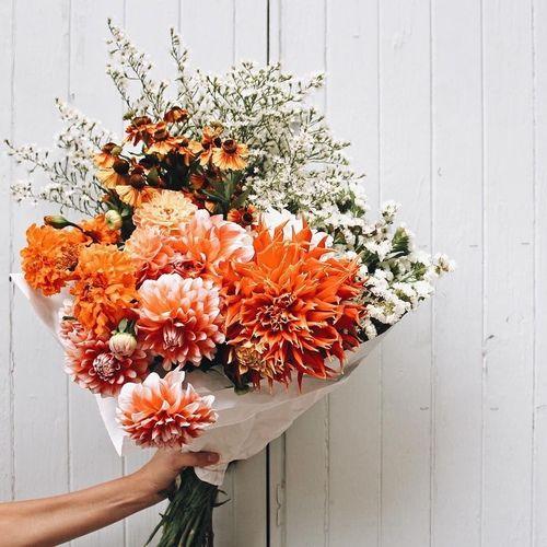 Imagem De Flowers Orange And Tumblr
