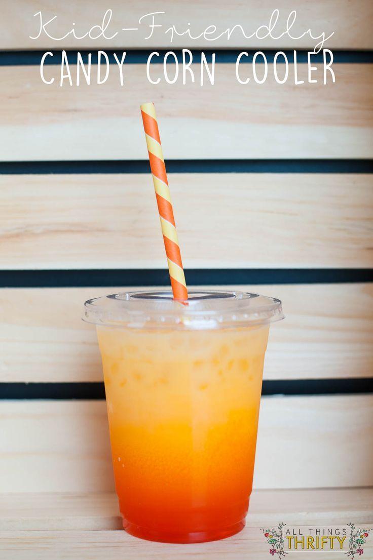 Kid Friendly Candy Corn Cooler | Recipes - Drink | Pinterest | Kid ...