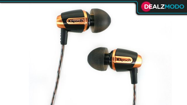 These Cheap Klipsch Headphones Are Your Ditch Those Stock Earbuds Deal Of The Day Klipsch Headphones Headphones With Microphone Klipsch