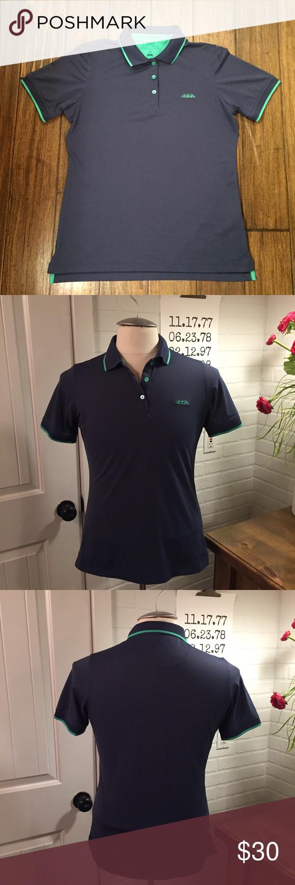 Peter Millar E4 Wicking Golf Polo Shirt Medium Golf polo