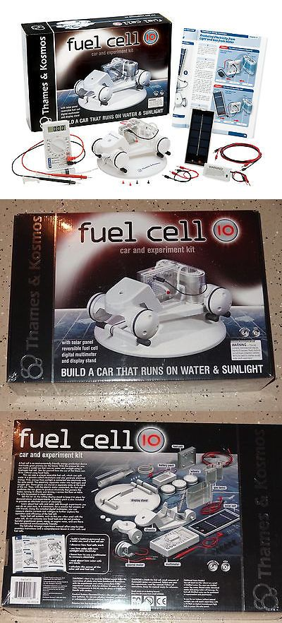 Electronics and Electricity 158698: Fuel Cell 10 Car And Experiment Kit Thames And Kosmos Science New In Box Educational -> BUY IT NOW ONLY: $189.95 on eBay!