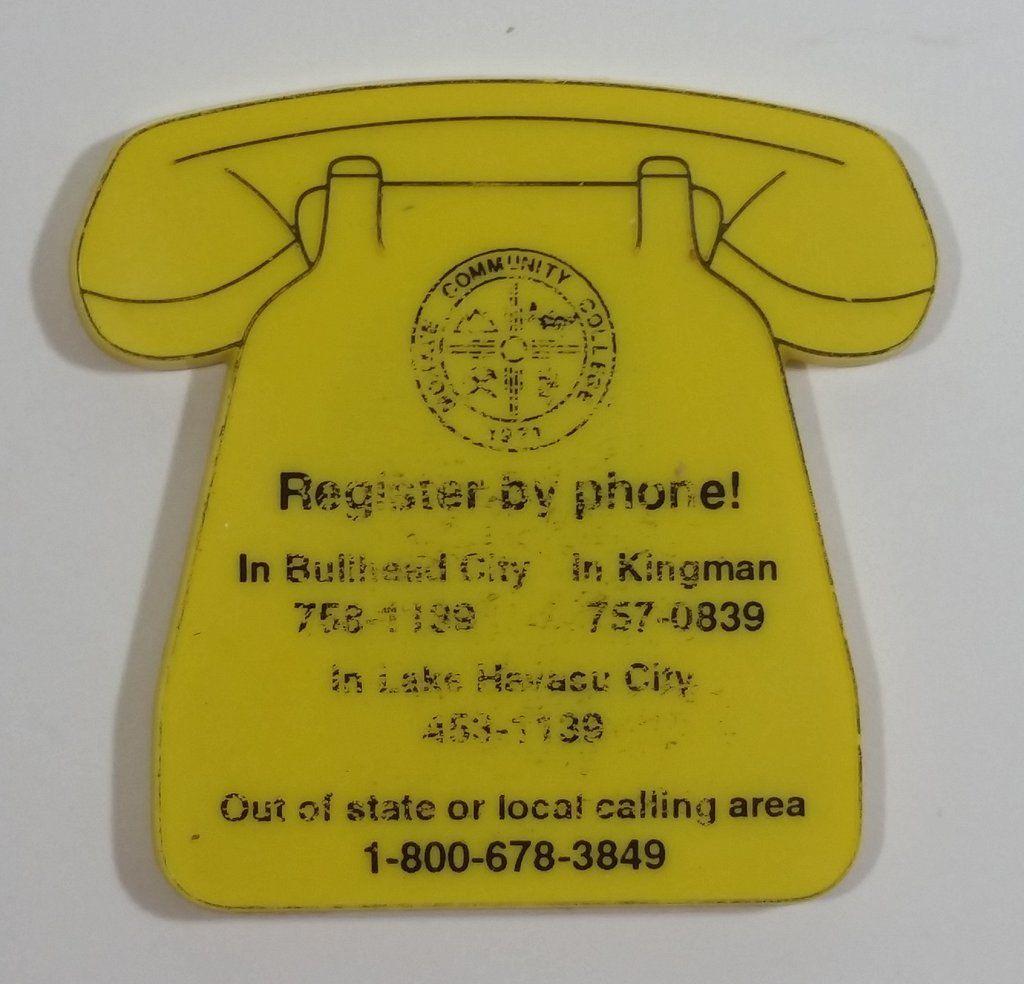 Mohave community college arizona yellow phone shaped