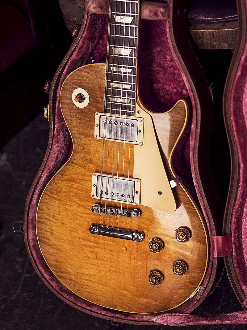1959 Gibson Les Paul Sun Burst The Holy Grail Of Guitars