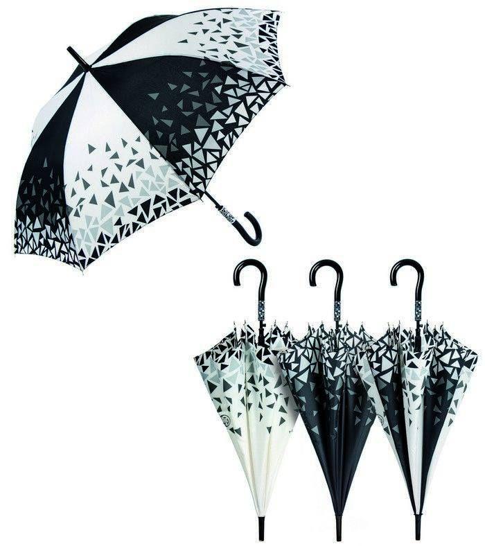 Paraguas cacha estampado GAUDI varillas fibra y aluminio