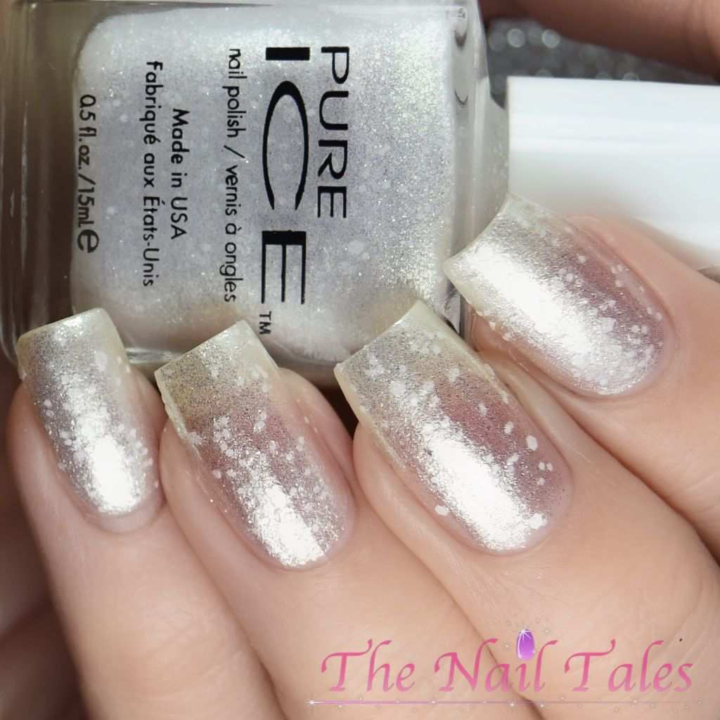 pure ice fairytale forest white as snow | nail polish bloggers