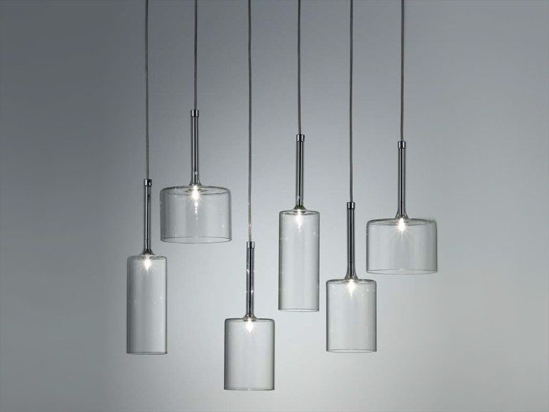Illuminazione Con Lampade Pendenti : Spillray lampadario modern pendants pinterest