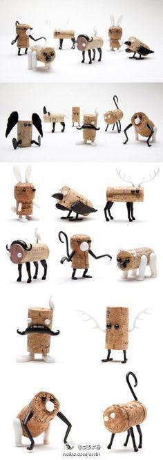 bouchons jouets pinterest bouchons li ge et bricolage. Black Bedroom Furniture Sets. Home Design Ideas