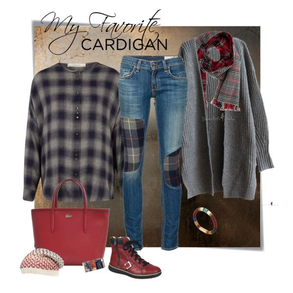 My Favorite Cardigan by ysmn-pan on Polyvore featuring Sessùn, rag & bone/JEAN, Rieker, Lacoste, Isabel Marant, Gregory Ladner, Michael Stars, contest and mycardi