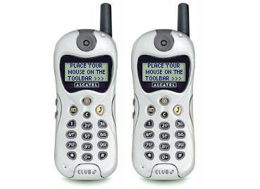 Alcatel Cell Phone Old Phone Phone Feature Phone