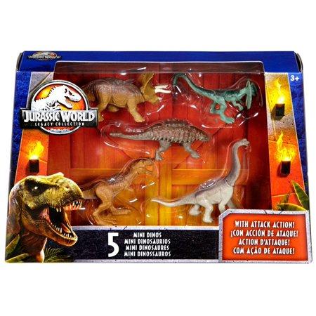 JURASSIC WORLD Legacy Collection 6 Toys DINOSAURI ACTION FIGURE dilophosauri