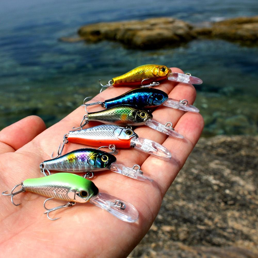 20Pcs 4cm Luminous Silicone Artificial Shrimp Fishing Lure Soft Bait Tackle Witt