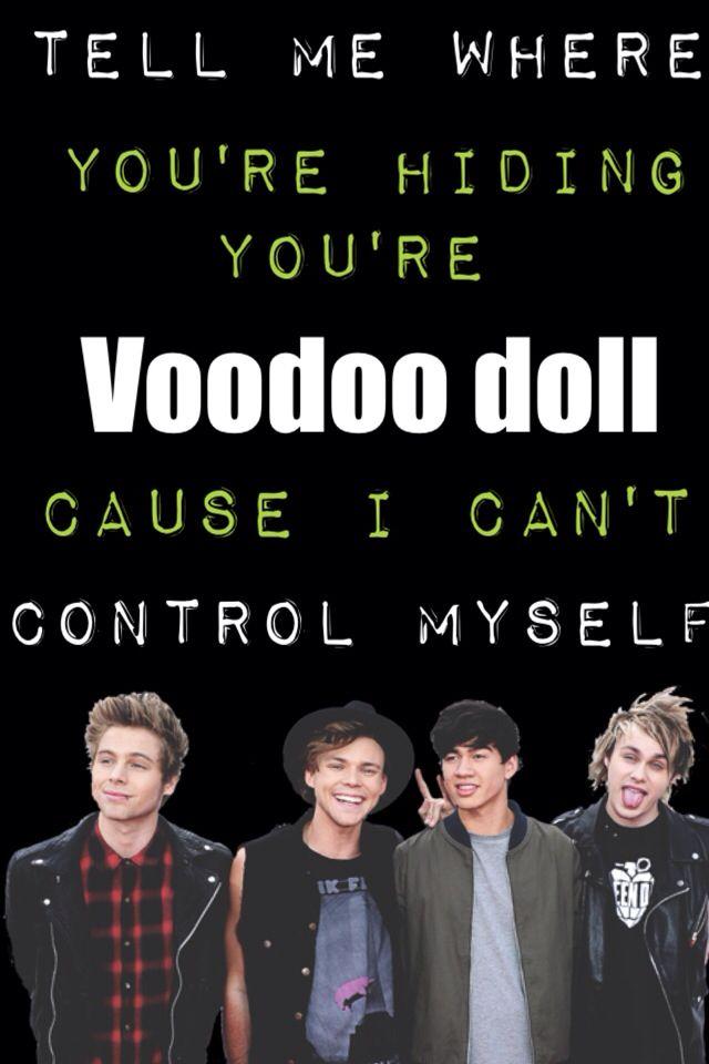 Voodoo Doll 5sos 5sos Lyrics 5sos Lyric Art Love Songs