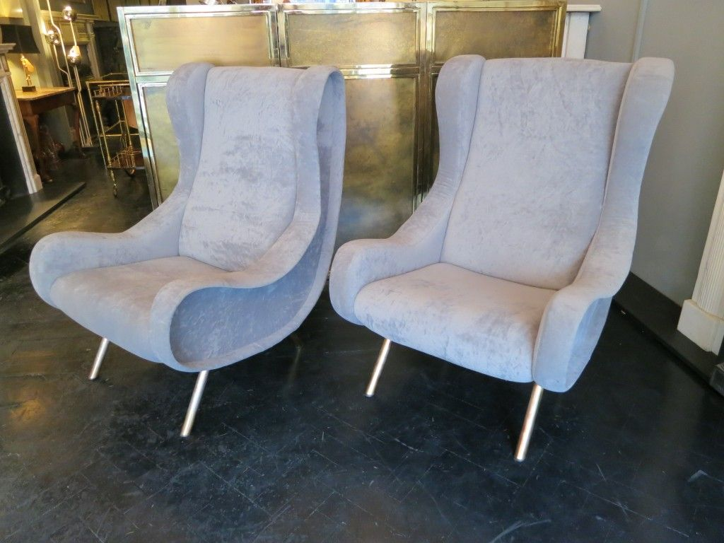 A Pair of Marco Zanuso Chairs | Circa Battersea