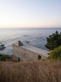 Bewohnte Wand Ferienhaus an der chilenischen