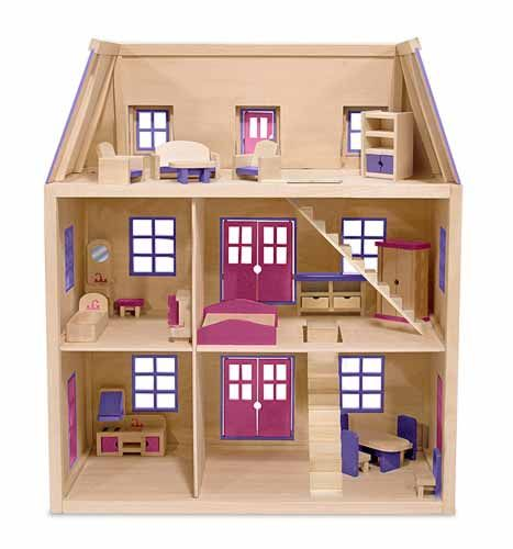 doll house miniatures - Wooden Dollhouses Designs