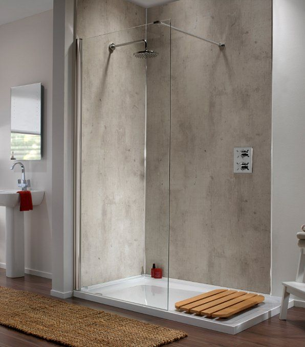 Showerwall Launches Sureseal For Enhanced Performance Bathroom Review Concrete Shower Bathroom Wall Panels Shower Wall Panels