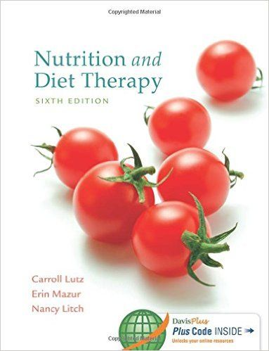 Nutrition And Diet Therapy 6th Edition Pdf Am Medicine Diet And Nutrition Nutrition Diet